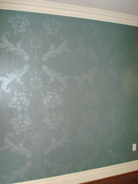 Decorative Stencil - Mural Painting, School & Library Murals, York Region, Ontario